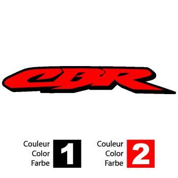 Sticker Honda CBR logo bicolor