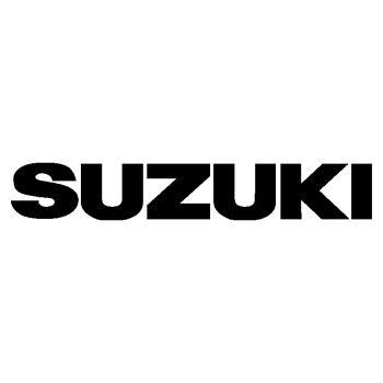 Suzuki Logo Decal name