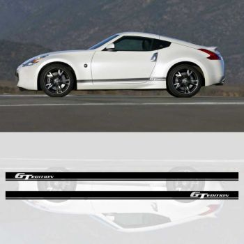 Kit stickers bandes NISSAN 370Z GT EDITION