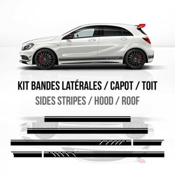 Mercedes A45 AMG Edition 1 stripes decals set