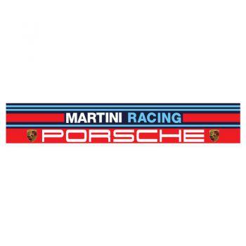 Stickers bande Pare-soleil Martini Racing Porsche (130 x 22 cm)