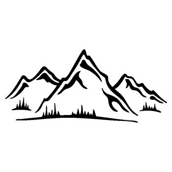 Mountain Alps Sticker