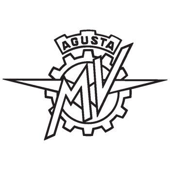 Autocollant moto logo MV AGUSTA MOTORCYCLE