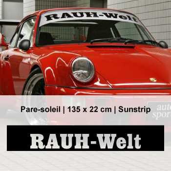 Sticker bande pare-soleil Rauh-Welt Porsche