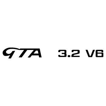 Autocollant Alfa Romeo GTA 3.2 V6