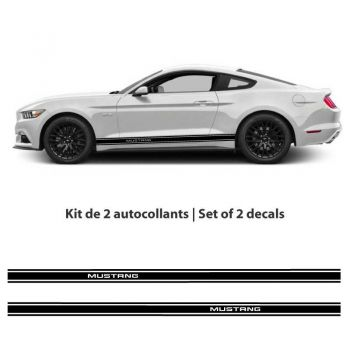 Kit stickers bandes Ford Mustang (2015-2017)