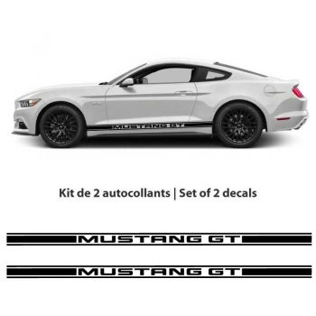 Kit stickers bandes Ford Mustang GT (2015-2017)