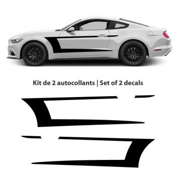 Kit stickers décorations Ford Mustang (2015-2017)