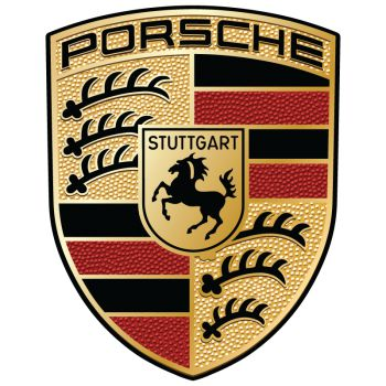 Porsche Logo Decal
