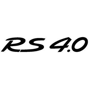 Porsche RS 4.0 Sticker
