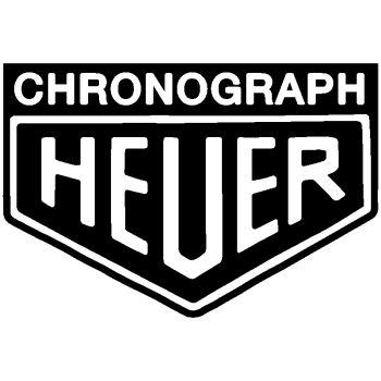 Sticker Chronograph Heuer [2ème modèle]