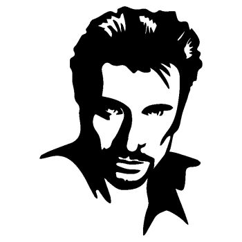Sticker Johnny Hallyday