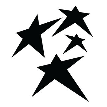 Sticker deco Star I [Étoile]