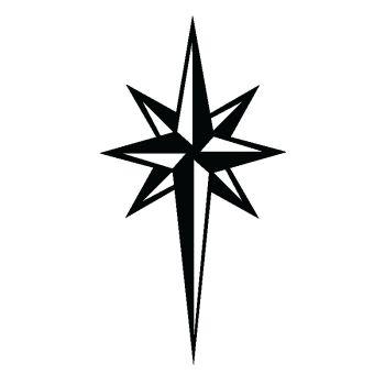 Sticker deco Star X [Étoile]
