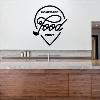 Decal Homemade Food Point