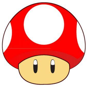 Sticker Toad Mario