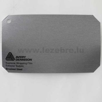 Camping-car Avery Wrap Film - Brushed Steel