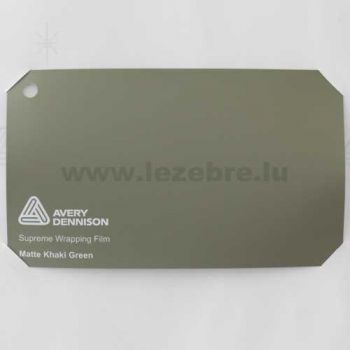 Camping-car Avery Wrap Film - Matte Khaki Green