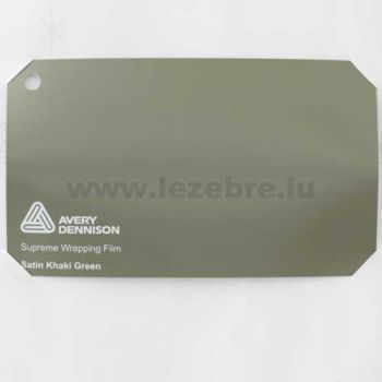 Camping-car Avery Wrap Film - Satin Khaki Green