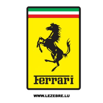 Ferrari Logo #2 Decal