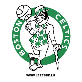 Sticker Celtics Boston Logo 2