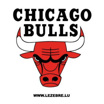 Sticker Chicago Bulls Logo