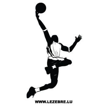 Basketball Player Decal