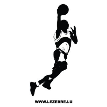 Basketball Player Decal 4
