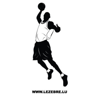 Basketball Player Decal 7