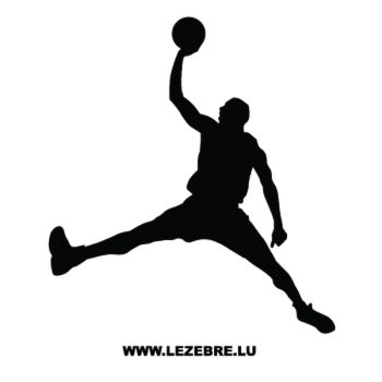 Basketball Player Decal 8
