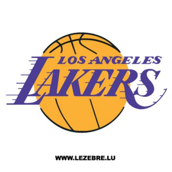 Sticker Los Angeles Lakers Logo