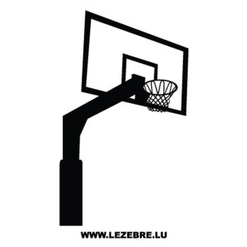 Basketball Basket Decal