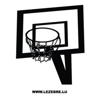Basketball Basket Decal 3