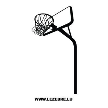 Basketball Basket Decal 4