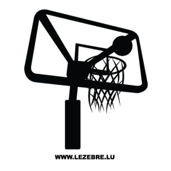 Basketball Basket Decal 5