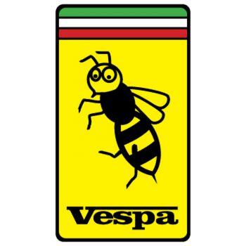 Sticker Vespa Ferrari