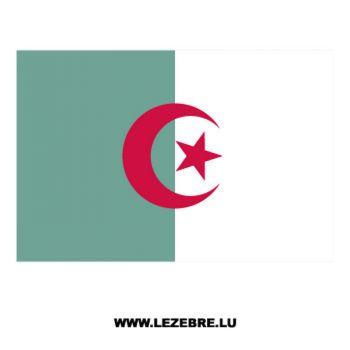 Algerian Flag Decal