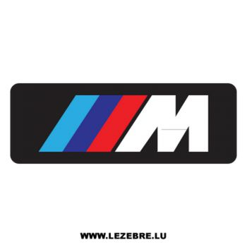 BMW M Series Decal
