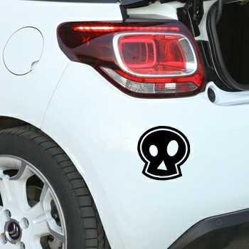 Stencil Citroën DS3 Tête de Mort Emo