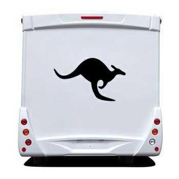 Schablone Camping Car Kangourou