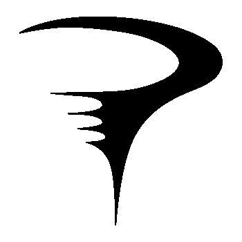 Stencil Pinarello Logo IV
