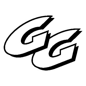 Stencil GAS-GAS GG Logo