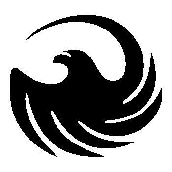 Pochoir FYM Logo V