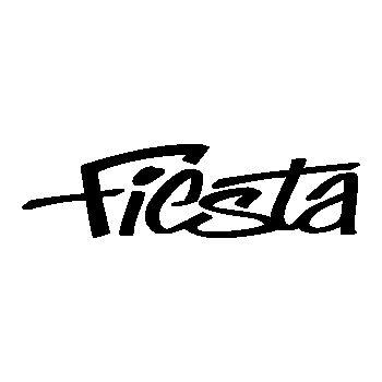 Pochoir Ford Fiesta Logo III