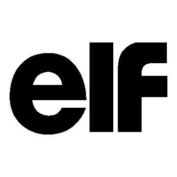Pochoir Elf logo