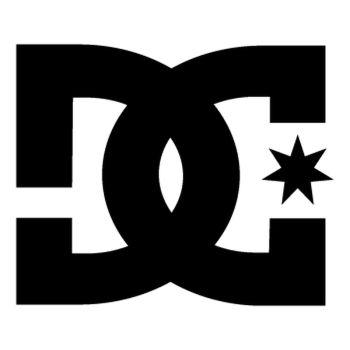 Stencil DC Shoes Logo