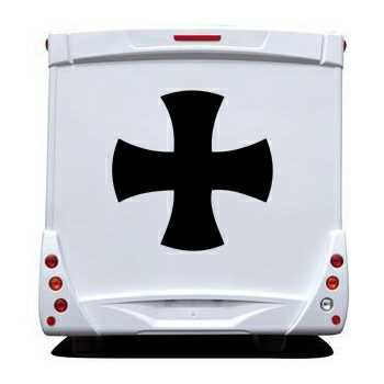 Stencil Camping Car Celtic Cross