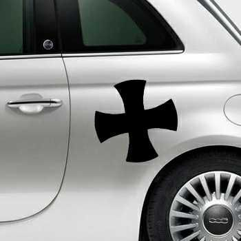 Stencil Fiat 500 Celtic Cross