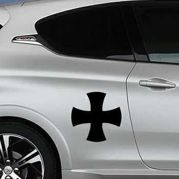 Schablone Peugeot Keltisches Kreuz