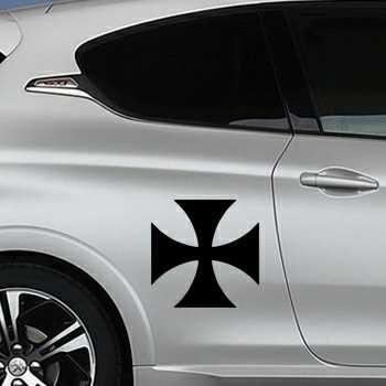 Pochoir Peugeot Croix de Malte II